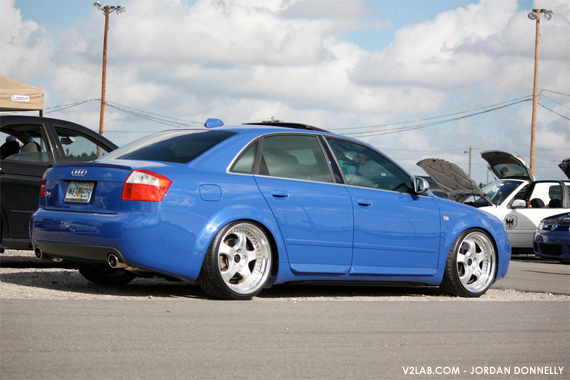 This is just rediculous flush audi s4 with work meisters i love euro